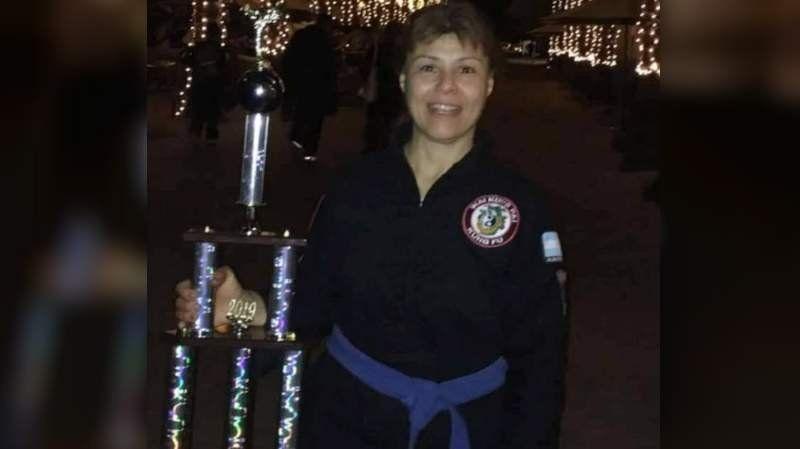 A los 50 años, Sandra Ayala se coronó bicampeona mundial de kung fu