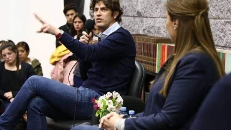 María Eugenia Vidal y Lousteau recorrieron la Universidad de Lomas