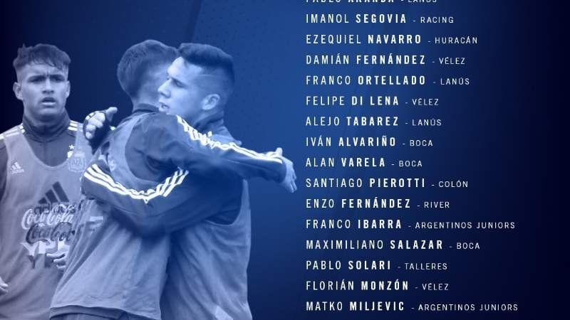 Franco Ortellado, de Arzeno a la Selección Argentina