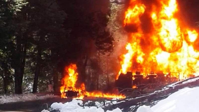 Villa La Angostura en estado de emergencia por accidente fatal en la Ruta 40