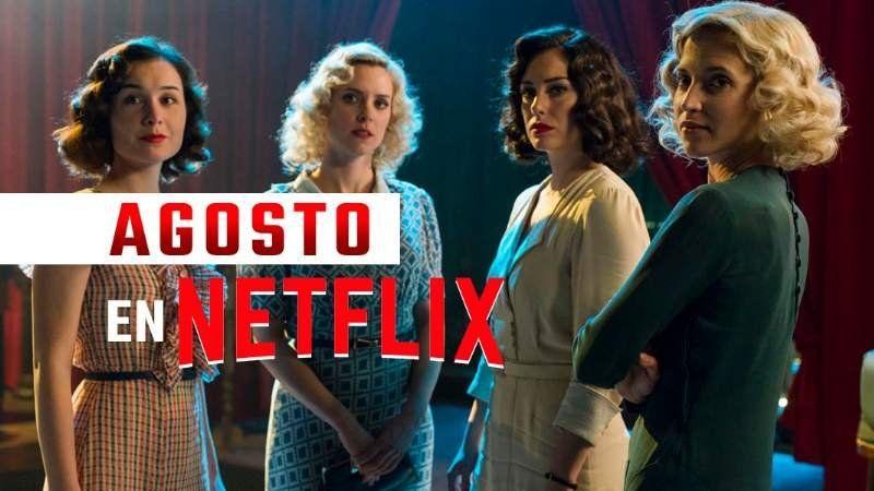 Los estrenos de Netflix para el mes de agosto