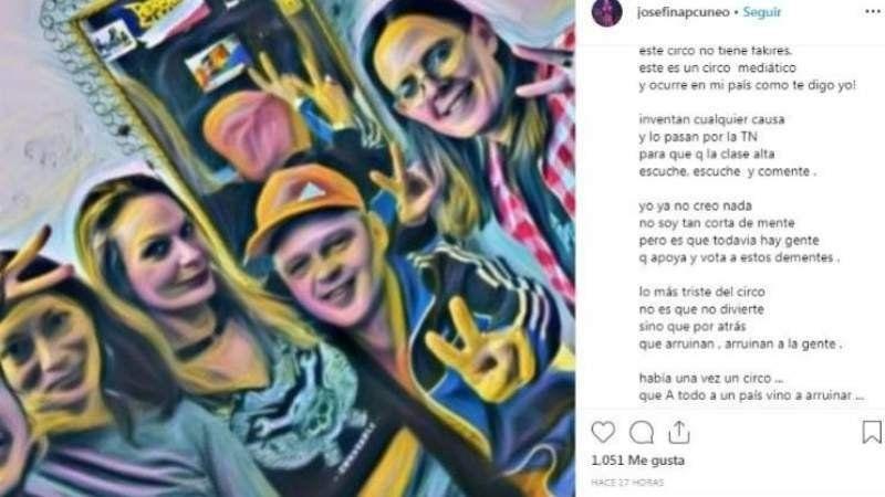 El polémico posteo de la mujer de El Pepo y su descargo tras las críticas recibidas