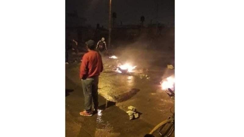 Video: Así cortaron la Ruta 205 los vecinos de Ezeiza por falta de luz
