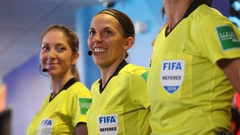 ¡Histórico! una mujer dirigirá la final de la Supercopa de Europa