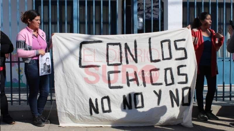 Manifestación en el jardín de El Jagüel: hay doce denuncias por abuso sexual