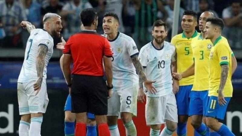 La Conmebol reconoció que usaron mal el VAR en Argentina-Brasil por la Copa América