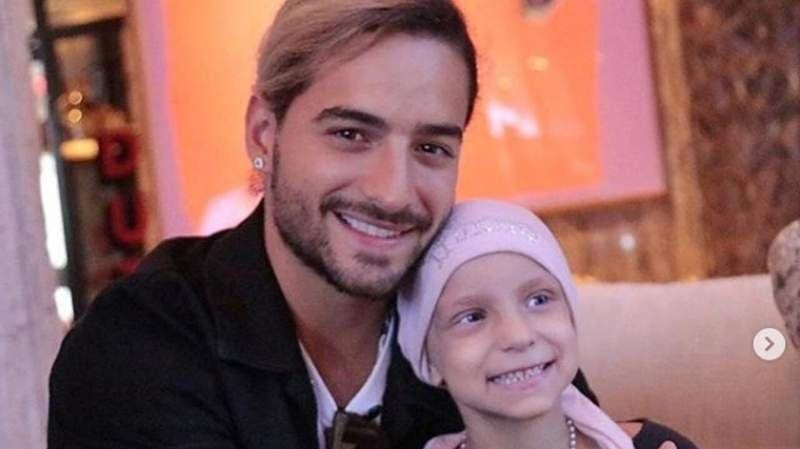 El conmovedor gesto de Maluma con una nena argentina