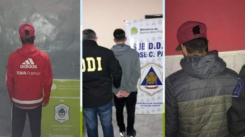 Tres detenidos por drogar y violar a una nena en manada en José C. Paz