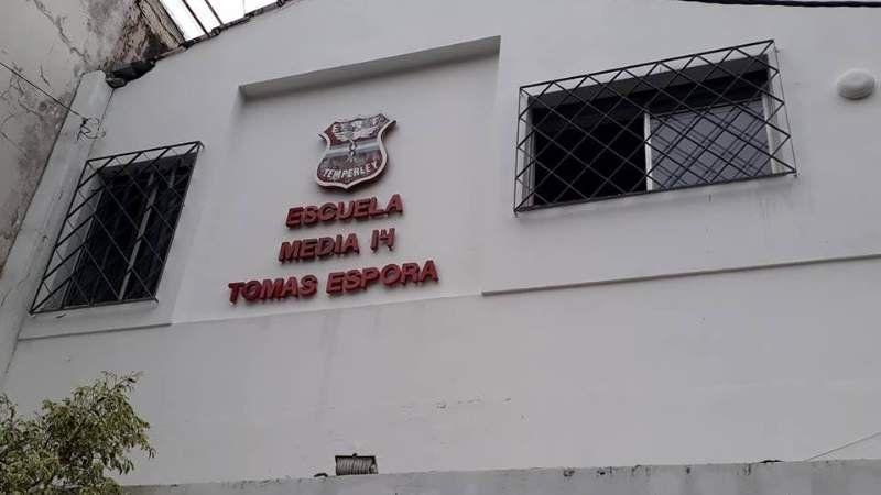 Se suicidó un alumno del colegio Tomás Espora de Temperley