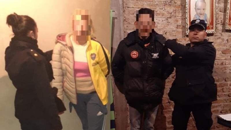 Allanaraon y detuvieron a dos delincuentes de 9 de Abril