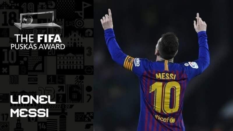 Los 10 mejores goles del año nominados por la FIFA: hay uno Messi y uno de River
