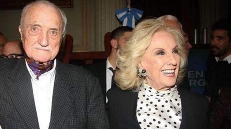 Por qué Mirtha Legrand y Goldie no fueron al entierro de su hermano