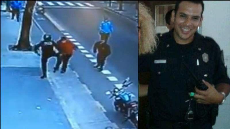 Liberaron al policía acusado de matar a un hombre tras pegarle una patada