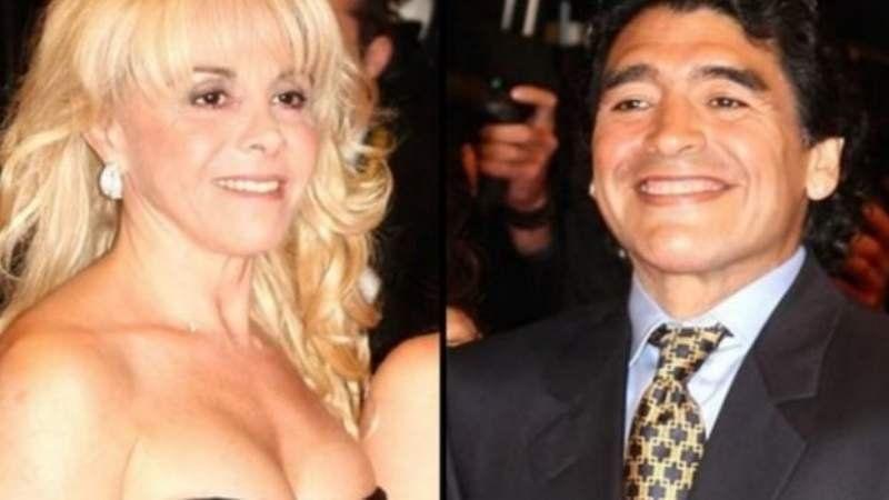 Duras declaraciones de Maradona tras el allanamiento al departamento de su ex mujer