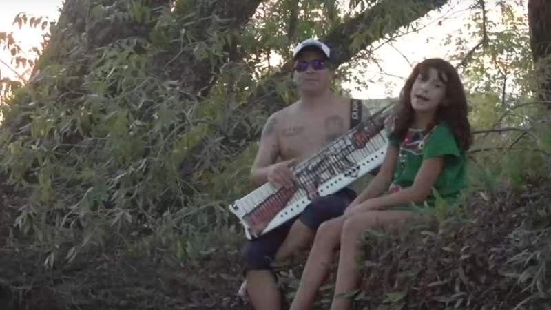 La hija de 11 años de Pablo Lescano lanzó su primer tema