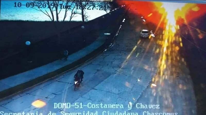 Un video muestra a Navila en una moto con el acusado el día en el que desapareció