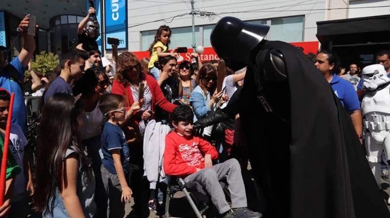 Star Wars invade Adrogué con un evento solidario