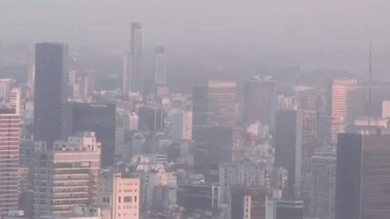 Por qué Capital Federal amaneció cubierta de humo