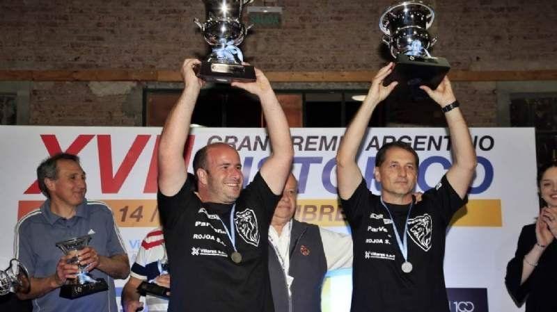 Dos vecinos de la región fueron campeones en una de las carreras más importantes del país