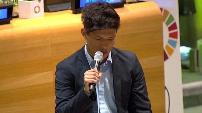 Conocé al joven argentino que habló en la ONU sobre el calentamiento global