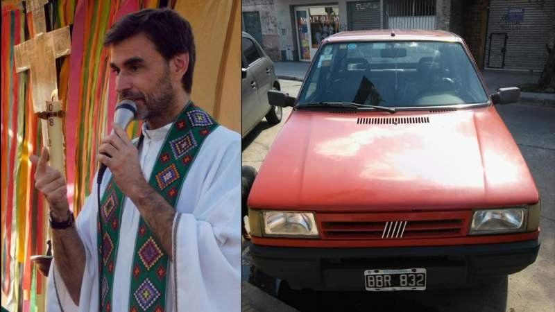 Le robaron el auto a un cura en plena misa en Don Orione