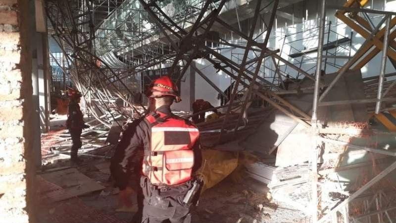 Habló la esposa de un obrero accidentado en Ezeiza: Siempre me decía que era arriesgado el trabajo
