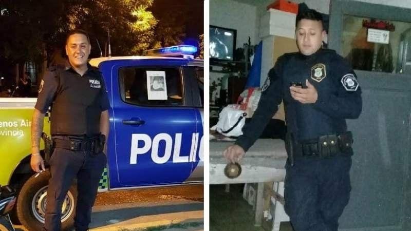 Dos policías le salvaron la vida a un bebé que convulsionó en Luis Guillón