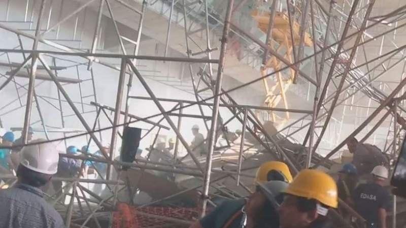 ¿Quién era el obrero que murió en el derrumbe del Aeropuerto de Ezeiza?