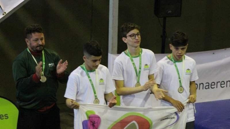 Esteban Echeverría salió subcampeón de gimnasia artística en los Juegos Bonaerenses
