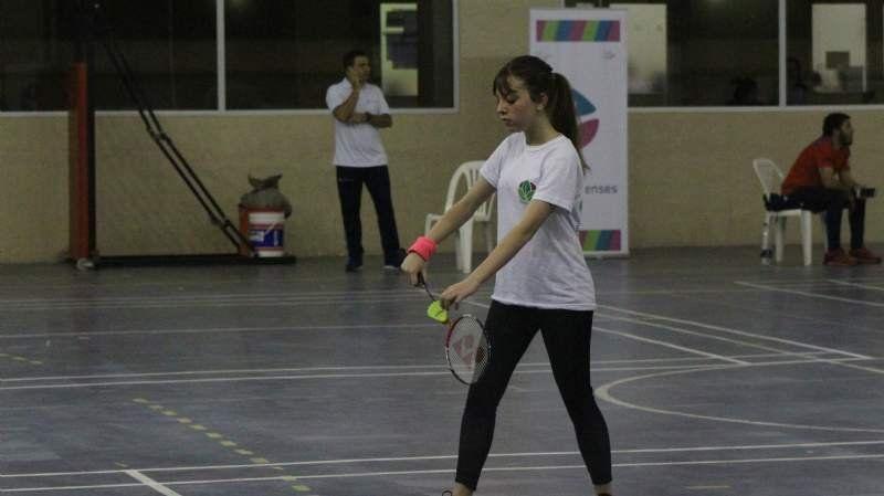 Bonaerenses: Julieta Díaz cayó en Bádminton y se quedó a un paso de la final