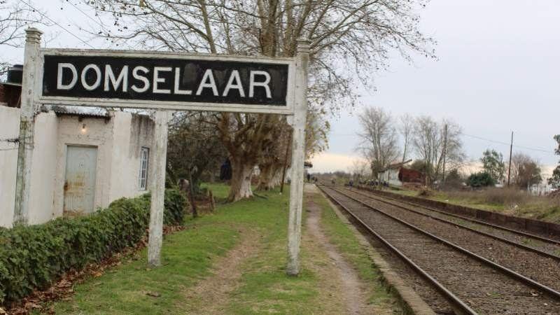 Histórico: este viernes vuelve a parar el tren en Domselaar