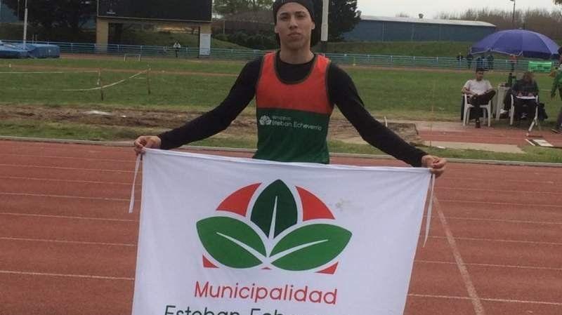 Un deportista echeverriano se consagró campeón bonaerense en salto en largo