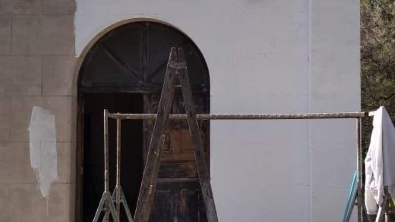 Restauraron una vieja capilla de San Vicente que estaba en ruinas