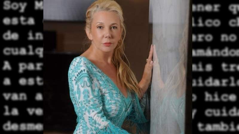 Mariana Nannis reveló chats privados con su hijo Axel Caniggia: Lamento llegar a esto
