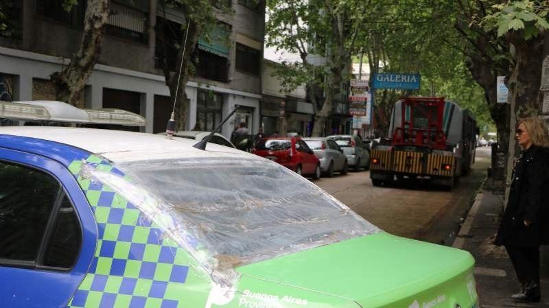 El tránsito estuvo colapsado en Monte Grande por un 501 averiado