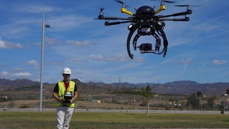 Drones ayudan a la construcción en Canning