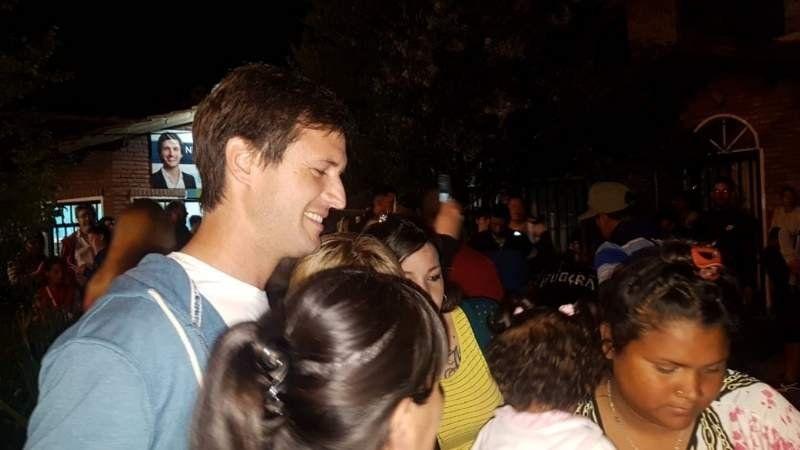 Ya festejan en el bunker de Mantegazza, que gana la elección en San Vicente