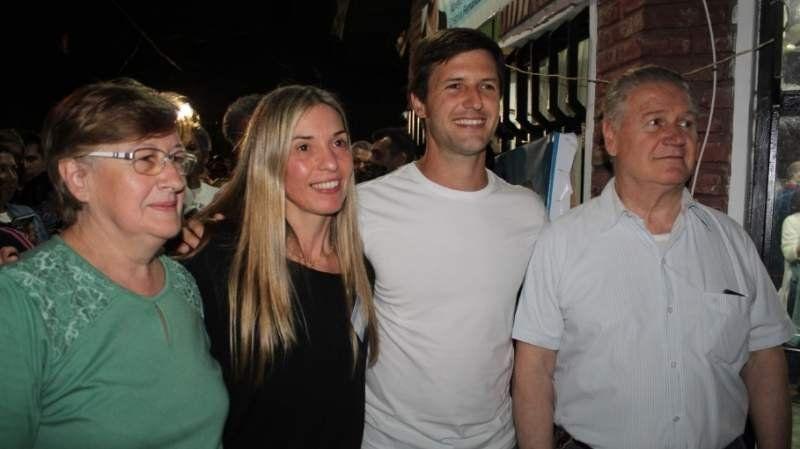 La emoción de Alicia y Jorge, los padres de Nicolás Mantegazza: Siempre estuvo con la gente