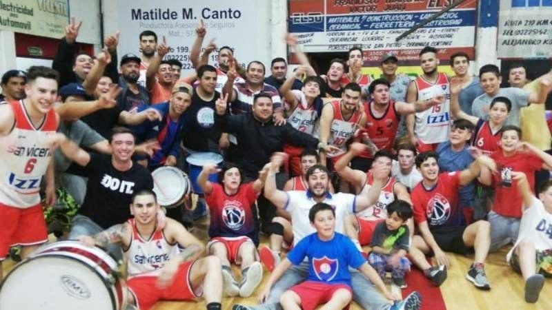 Histórico triunfo del Deportivo San Vicente ante el Social de Korn por el Provincial