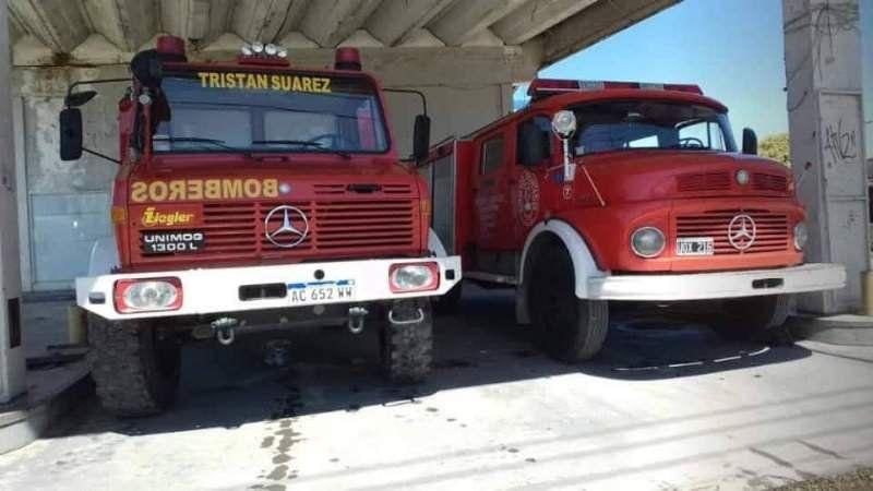 Los Bomberos Voluntarios de Tristán Suárez reclaman por la necesidad de un cuartel en Spegazzini