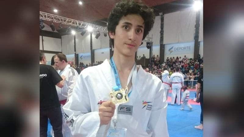 Un joven de Brown con TGD se consagró campeón nacional de taekwondo