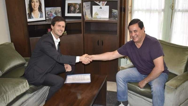 Los detalles de la reunión entre Nicolás Mantegazza y Mauricio Gomez en San Vicente