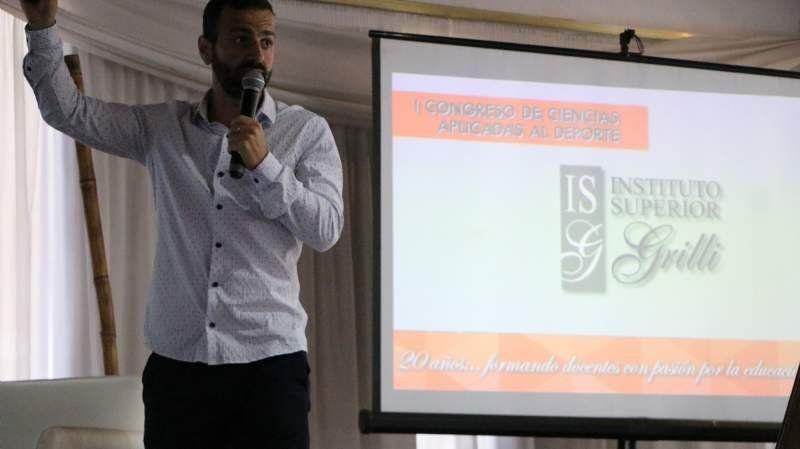 El Instituto Superior Grilli realizó un Congreso de Ciencias Aplicadas al Deporte