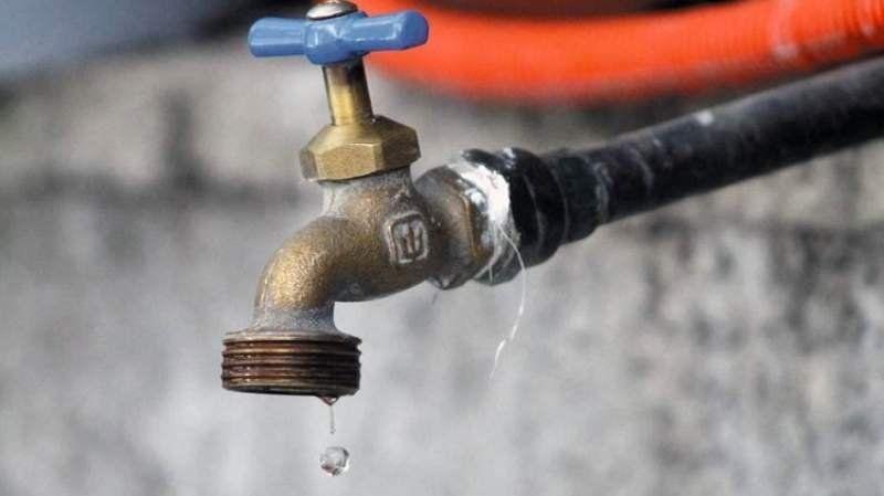 Esta semana habrá múltiples cortes de agua en la región