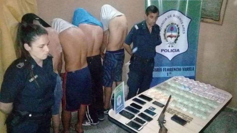 Con una app del celular atraparon a una banda que hacía entraderas en Florencio Varela