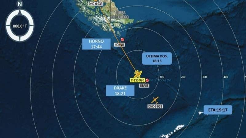 Un avión de la Fuerza Aérea chilena desapareció con 38 personas a bordo rumbo a la Antártida