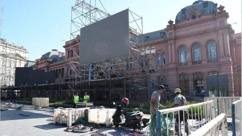 Cómo será el operativo y los cortes previstos para la jura de Alberto Fernández