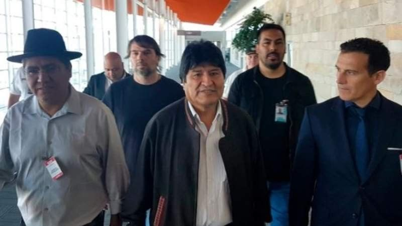 Evo Morales llegó al país como refugiado político