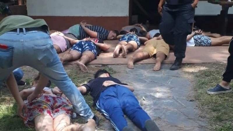 Mataron a un joven a la salida de un boliche en la costa y hay diez detenidos