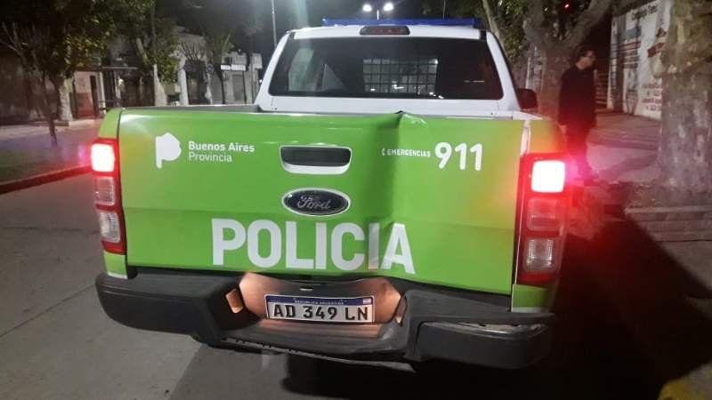 Delincuentes balearon un móvil que patrullaba las calles